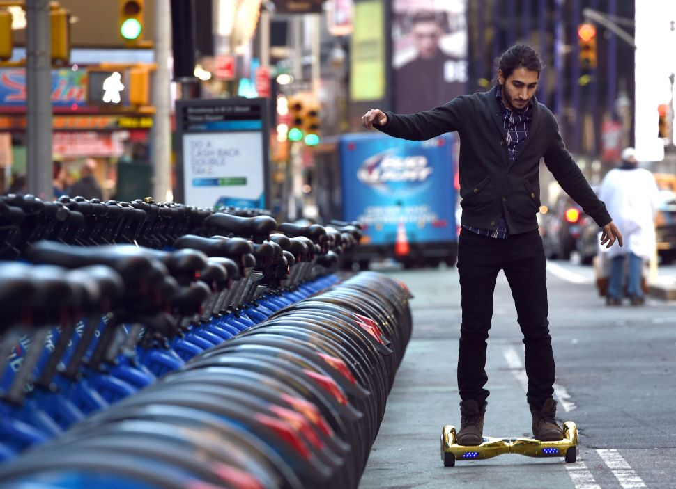 Politicians Push to Legalize Hoverboards in New York City