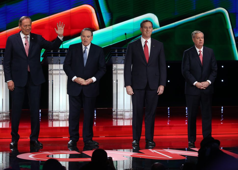 Four For Fighting! Undercard Candidates Tackle Terrorism and Trump