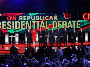 Republican presidential candidates (Photo: Justin Sullivan for Getty Images)