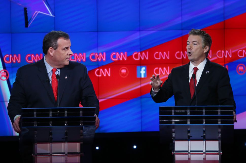 Chris Christie vs. Rand Paul: A New Conservatism Emerges