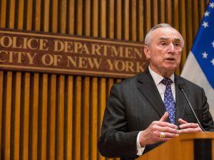 NYPD Commissioner Bill Bratton.