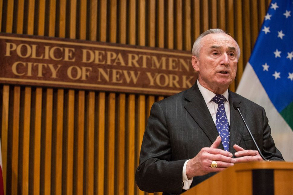 Bratton: Cop Who Fatally Shot Motorist in Brooklyn Stripped of Badge and Gun