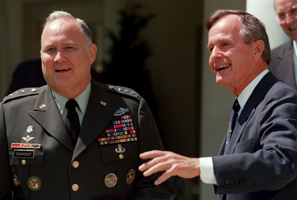 What Norman Schwarzkopf Taught Me From War