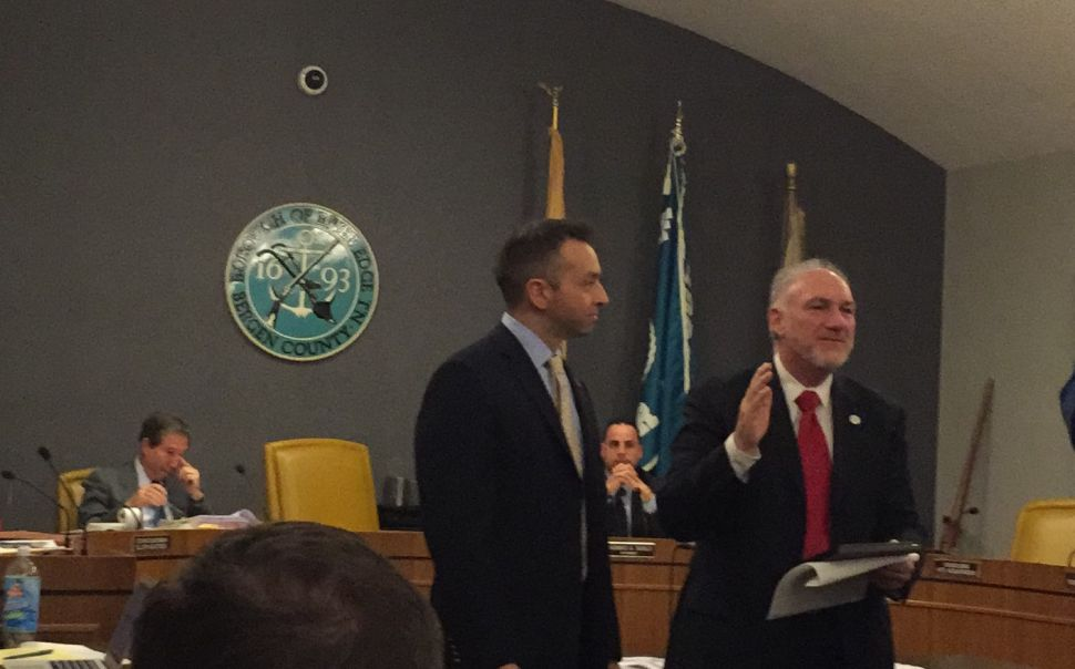 Cappola Receives Award From River Edge Mayor and Council