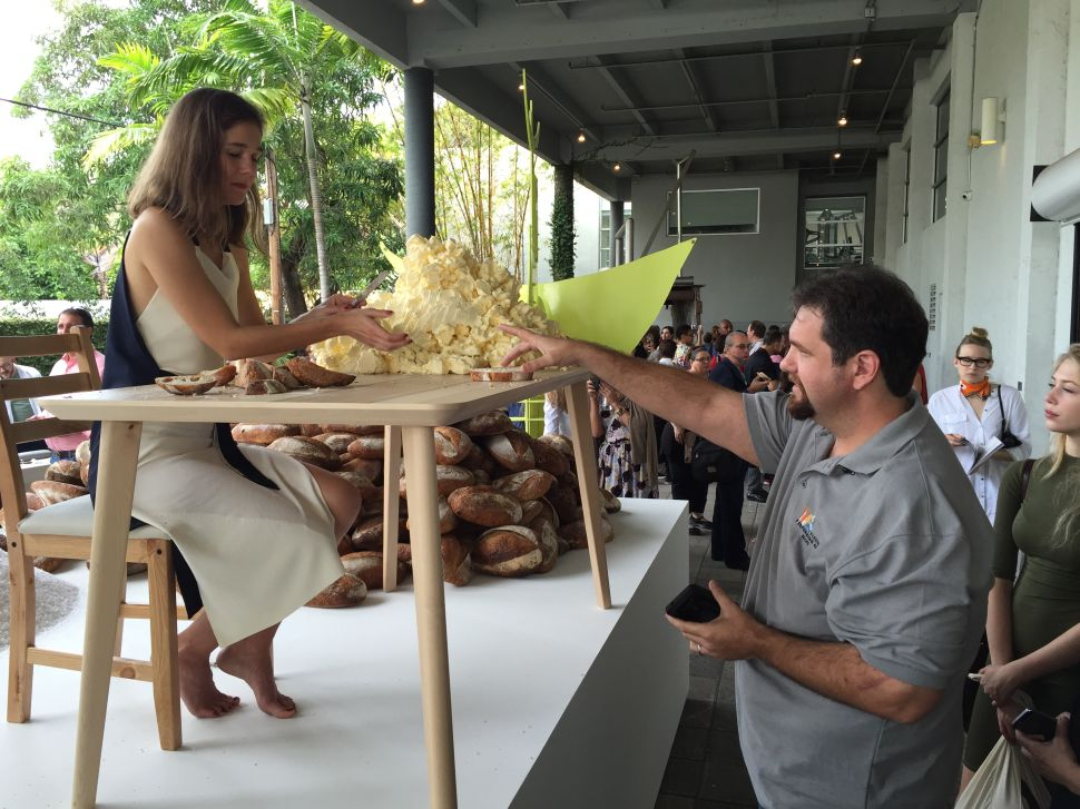 Food-Performance Legend Jennifer Rubell Serves Bread, Butter and Bliss in Miami