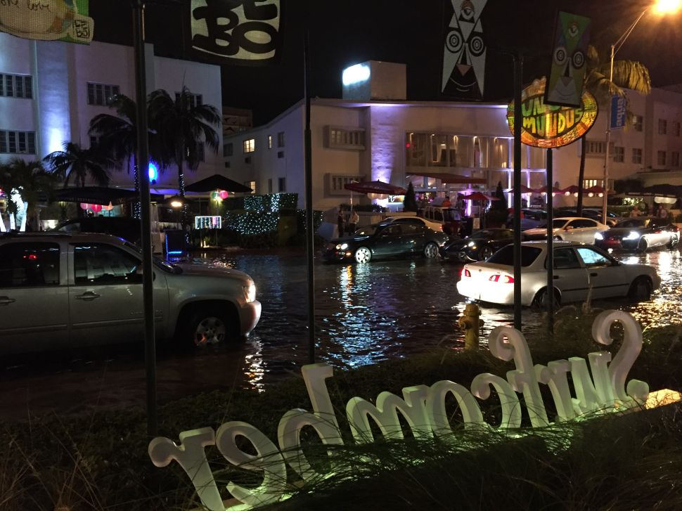 Epic Flooding Hits Miami, Artist-Designed Jet for Hire, and More