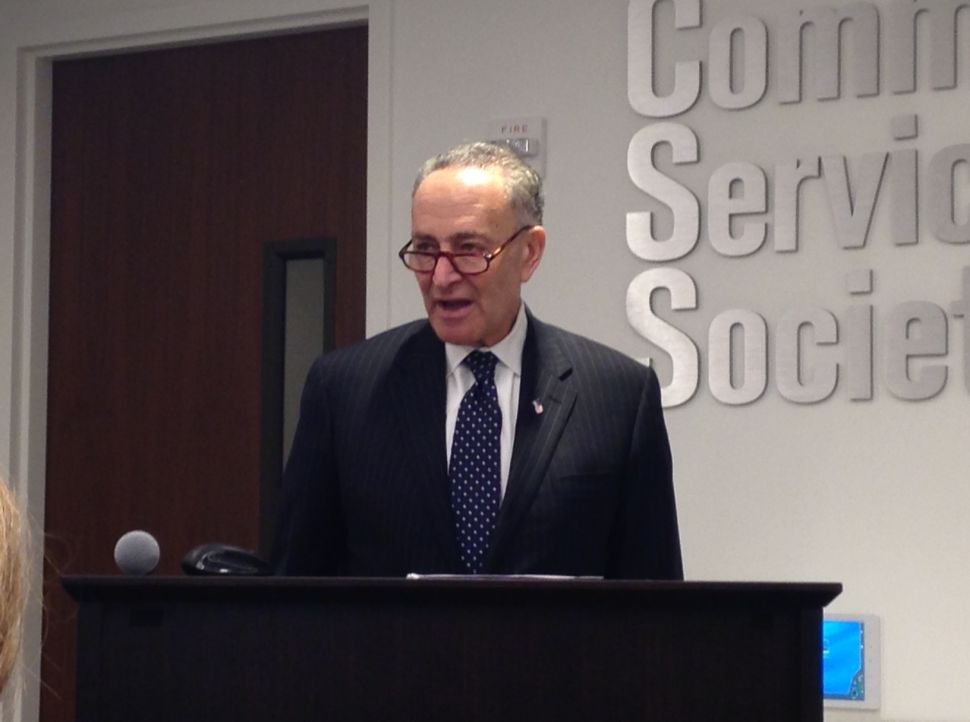 Charles Schumer Won't Return Donations from Donald Trump