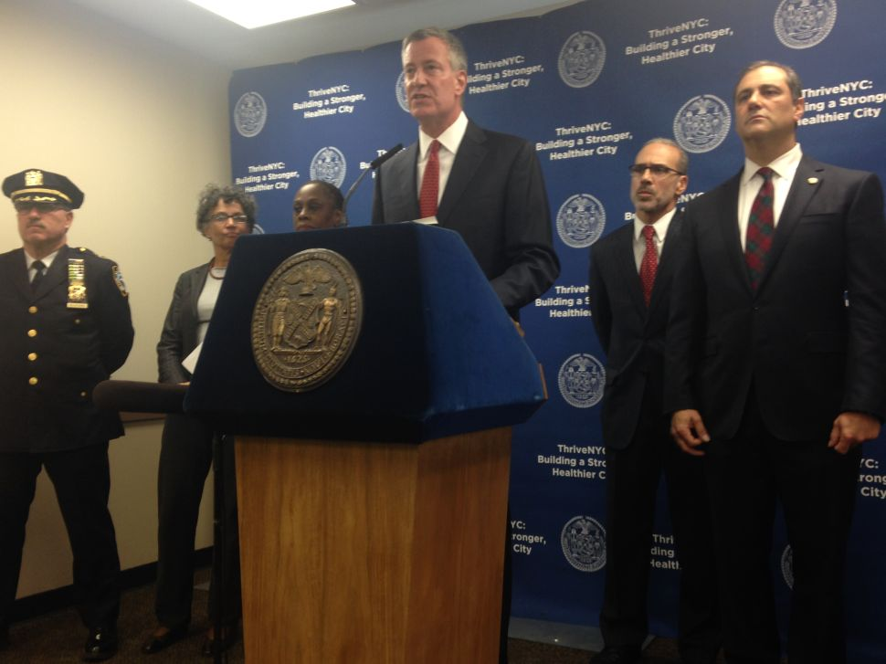 In Staten Island, de Blasio Announces New Anti-Heroin Initiatives