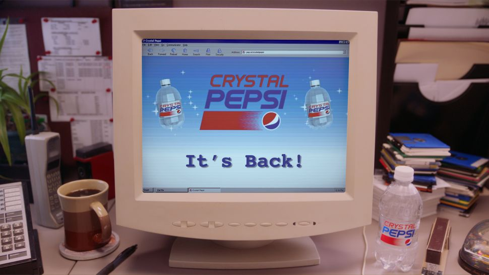 Party Like It's 1992: Crystal Pepsi Is Back