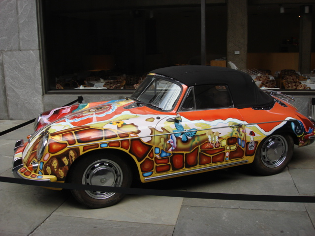Janis Joplin's Psychedelic Porsche Auctioned for $1.76M