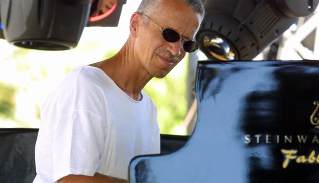 Keith Jarrett, probably getting ready to groan. (Photo: Getty Images)