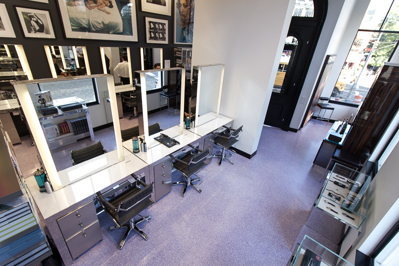 John Barrett's New Salon Offers No Commitment Bangs and Tom Ford Makeovers