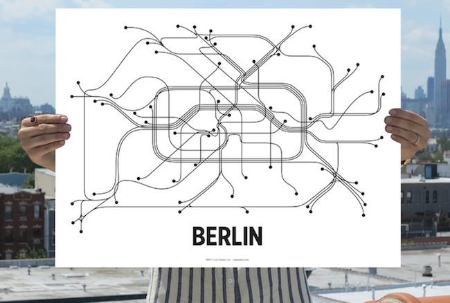 Minimalist Paraphernalia: Cool, Clean and Conversation-Starting Subway Art