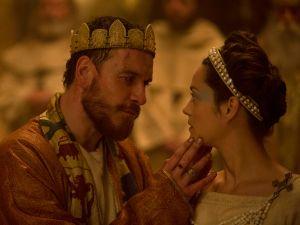Michael Fassbender and Marion Cotillard in Macbeth.