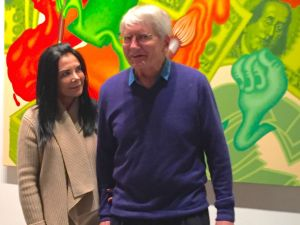 Mary Boone and Peter Saul. (Photo: Courtesy of Mary Boone Gallery)