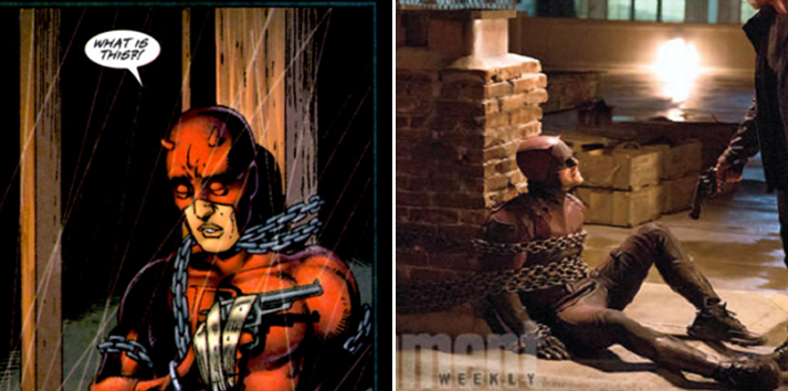 First Photo of The Punisher in 'Marvel's Daredevil' Is Straight From the Comics