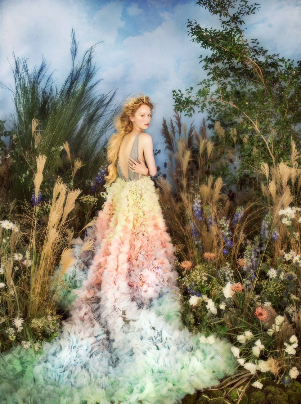 This Photoshoot Brings Renoir's Garden to Life With Cartier Jewelry