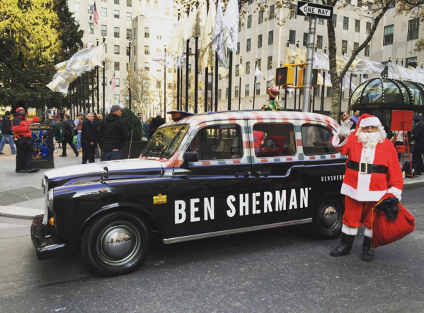 Spot These Festive London Taxi Cabs Around Town for a Fashionable Free Ride