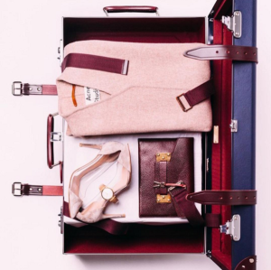 Neatly packed and ready to go (Photo: Instagram/GlobeTrotter1897).