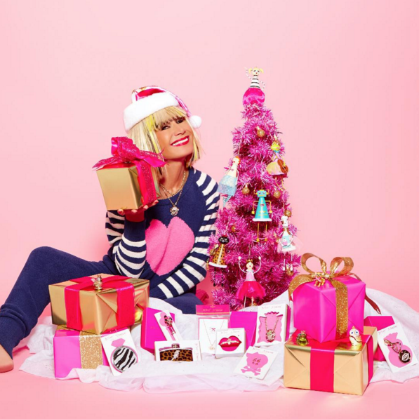 See How Your Fashion Favorites Celebrated Christmas on Social Media
