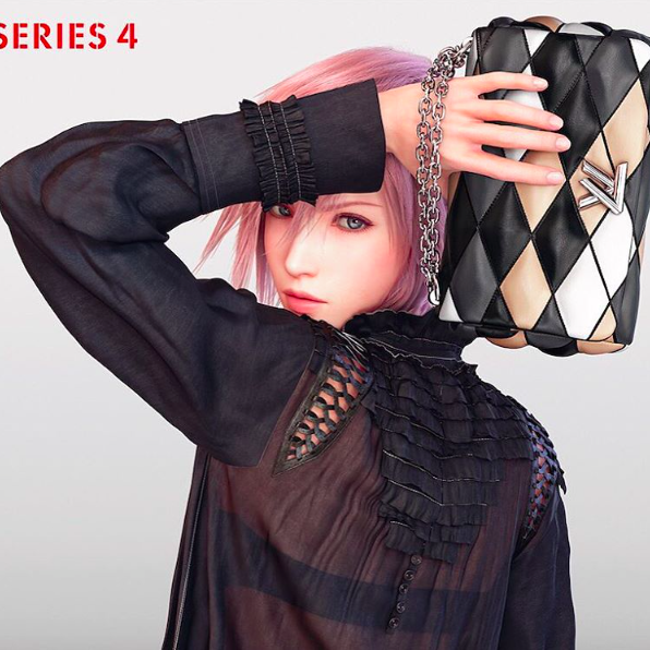 Louis Vuitton's Latest Muse Is From the 'Final Fantasy' Franchise