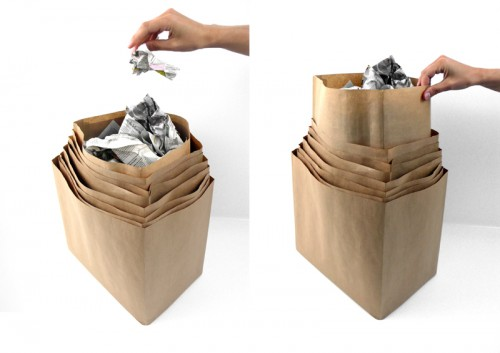 Minimalist Living: Spartan Trash Cans Offer a Double Dose of Austerity