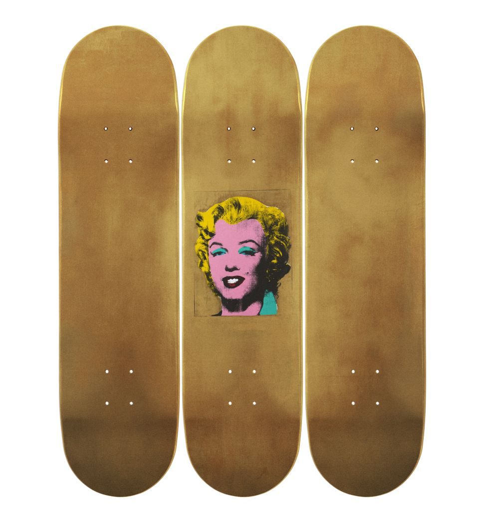 Zoom: MoMA Launches Line of Warhol Skateboards