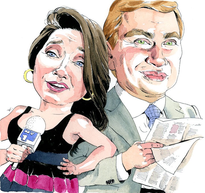 NY1's Pat Kiernan and Jamie Stelter Apparently Anchor Each Other