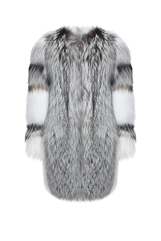 Yves Salomon Mix Fox Coat, $10,180, Yves Salomon, 790 Madison Avenue, NY, 10065, (212) 988-8145 (Photo: Courtesy Yves Salomon).