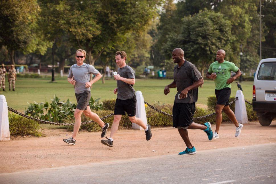 Mark Zuckerberg Is Challenging Facebook Users to Run 365 Miles in 2016