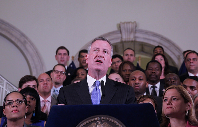 De Blasio Administration Agrees to Decriminalization of Low-Level Offenses
