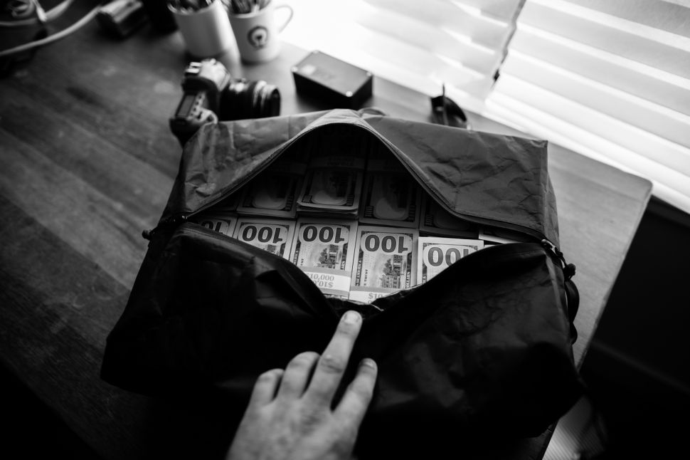 Mucksack: The Hauly Heist Is the Latest Espionage Accessory