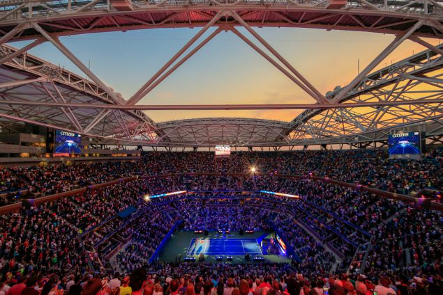 Tennis Legends Face Off at a US Open Underscored by Transformation
