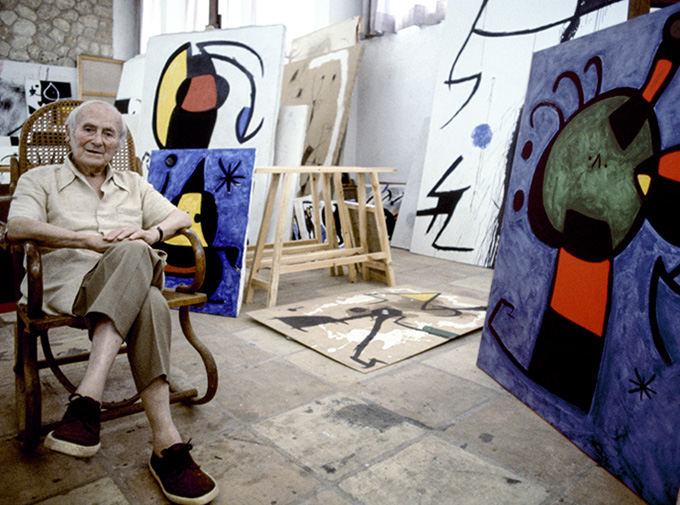 Gallery Will Recreate Joan Miró's Studio at the 2016 Armory Show