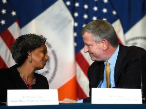 Mayor Bill de Blasio named Dr. Herminia Palacio as Deputy Mayor for Health and Human Services today. (Photo: Demetrius Freeman/Mayoral Photography Office)