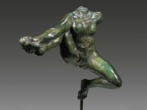 August Rodin, Iris, Messenger of the Gods, (1890-91). (Photo: Sotheby's)