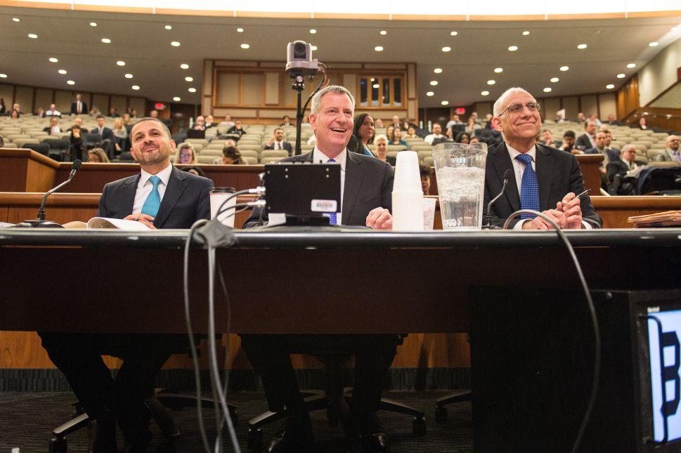 De Blasio and State Legislature Tangle Over Property Tax Cap