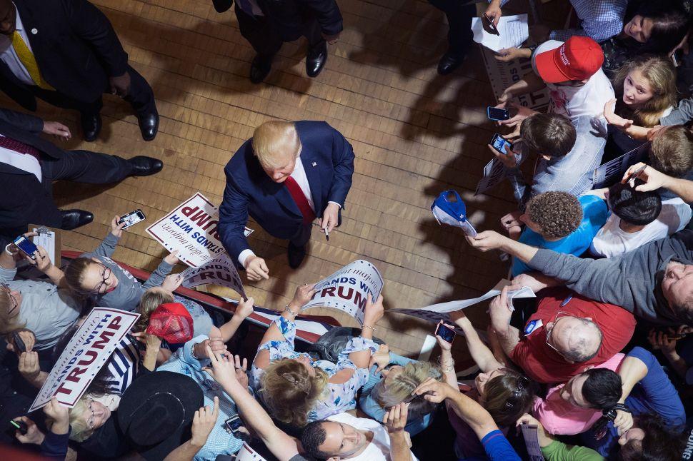 Sanders, Trump and Cruz Incite Panicked Hysteria From the Washington Establishment