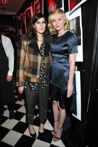 Designer Kate Mulleavy (L) and actress Kristen Dunst (R) (Photo: Donato Sardella/Getty Images for W Magazine)