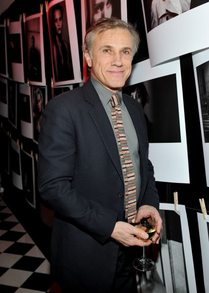 Actor Christoph Waltz (Photo by: Donato Sardella/Getty Images for W Magazine)