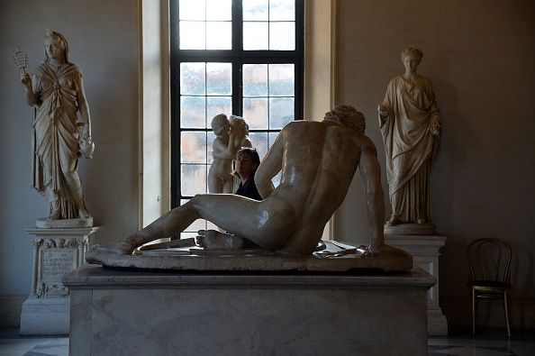 Italy Clothes Nude Statues for Iranian Prez, MFA Boston Buys Frida Painting—and More