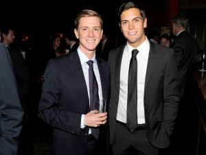 Facebook co-founder Chris Hughes and his husband, Sean Eldridge. (Clint Spaulding/Patrick McMullan)