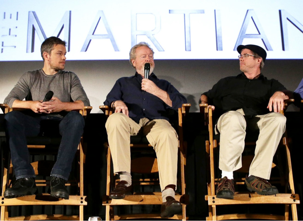 EXCLUSIVE: 'The Martian' Author Andy Weir Reacts to Multiple Golden Globes Wins
