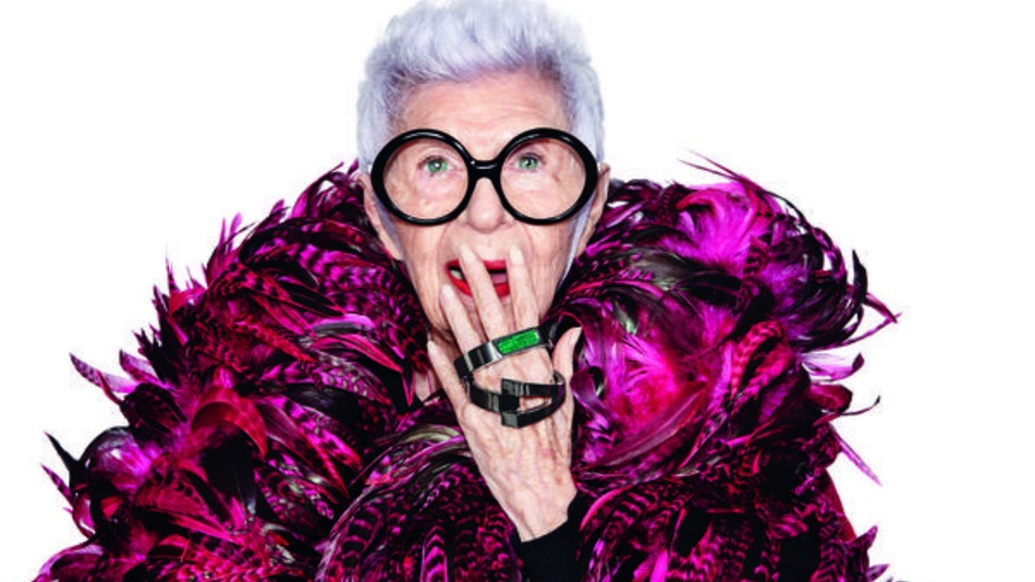 94-Year-Old Icon Iris Apfel Designs Wearable Tech with Real Style