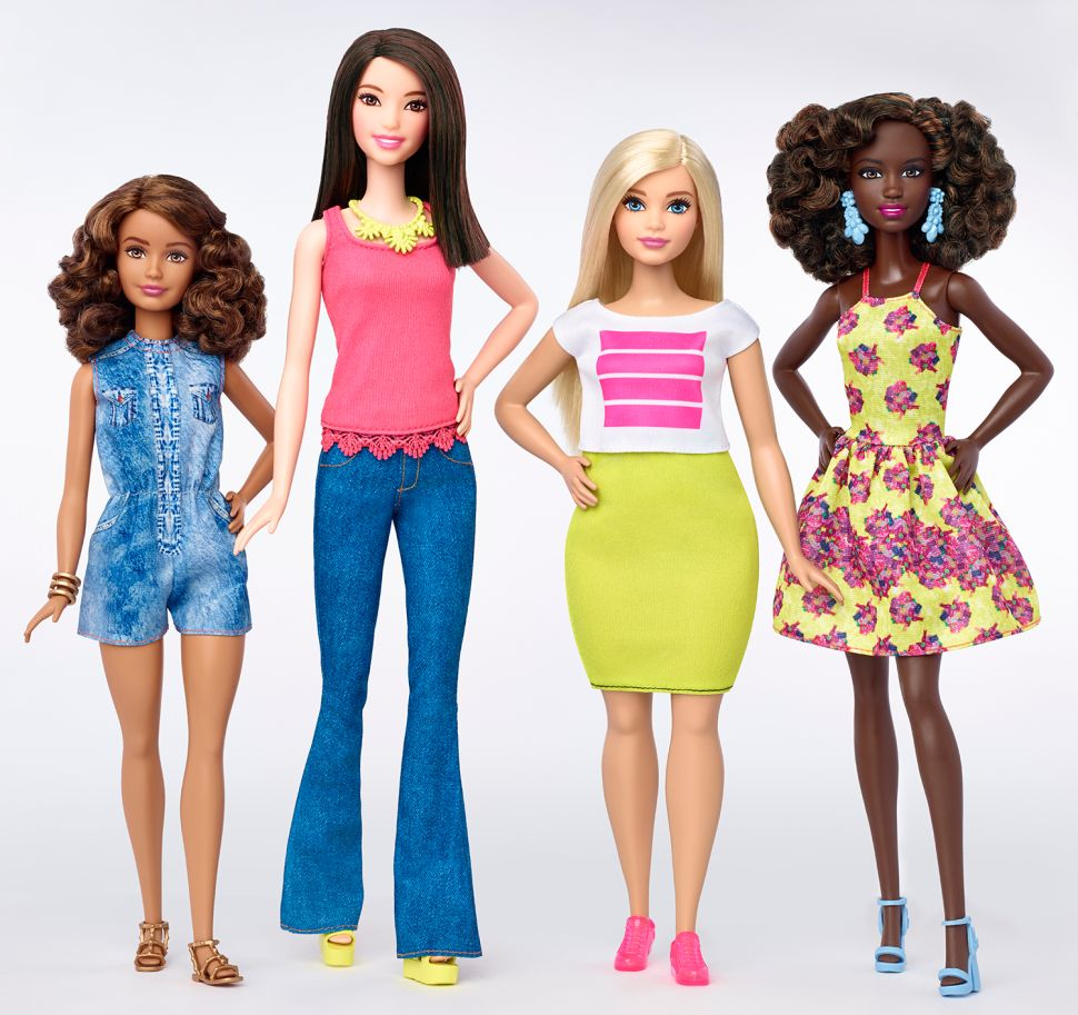 After 55 Years, Barbie Breaks Her One-Size-Fits-All Model