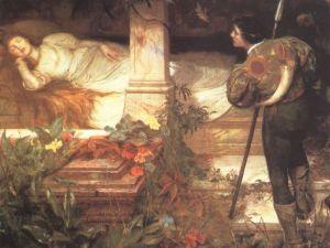 Edward Frederick Brewtnall's Sleeping Beauty.