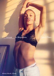 Adwoa Aboah (Photo: Courtesy Calvin Klein).
