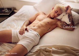 Justin Bieber (Photo: Courtesy Calvin Klein).