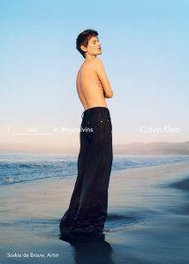 Saskia de Brauw (Photo: Courtesy Calvin Klein).