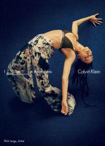 FKA Twigs (Photo: Courtesy Calvin Klein).